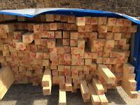 50x50 PAR Redwood Soft Timber