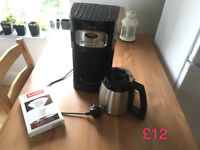 John Lewis Coffe maker, little broken but working perfectly!