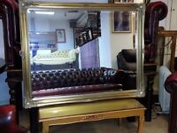 antique gold frame and large size mirror .
