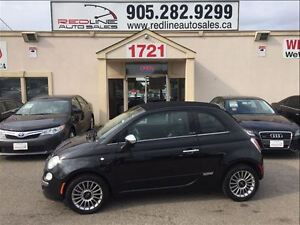 2012 Fiat 500C Lounge, Convertible, Leather, WE APPROVE ALL CRED