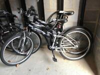 Dunlop Special Edition Mountain Bike / Bicycle - x2 - adults