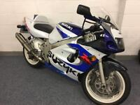 Suzuki GSXR 600 SRAD 1999 only 21k nice bike