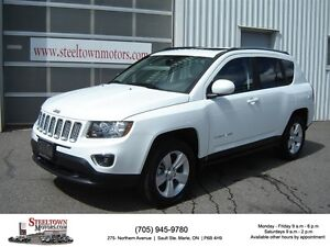 2015 Jeep Compass High Altitude 4x4|Heated Leather|Sunroof|Power