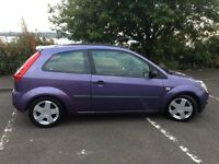 2005(55reg) Beautiful Purple Ford Fiesta 1.4 Zetec 3 Door....Bargain>>>Cheap