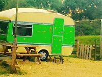 Vintage 1972 Caravan