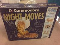 BOXED Commodore 64 C64 Night Moves / Mindbenders System Computer Console BUNDLE +15 games