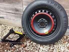 16 inch space saver spare wheel and jack