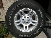 "EXCELLENT SET 4 Factory 16"" RIMS Chrysler Dakota or Similar."