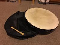 Irish drum Bodhran