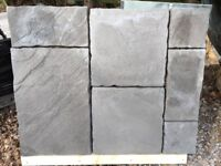 Patio slabs Natural stone effect