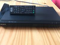 Sony DVD Player with Scart Lead & Remote - could deliver if local.