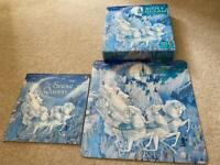 Usborne book and jigsaw puzzle - the snow queen