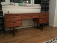 Mid Century Desk or dressing Table