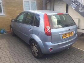 FORD FIESTA GHIA AUTOMATIC 07 PLATE MOTD LEATHERS VERY GOOD RUNNER £890