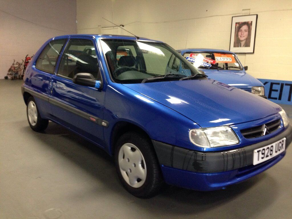 1999 Citroen Saxo East Coast 3 Door Hatchback 1.1 Immaculate for year One  owner