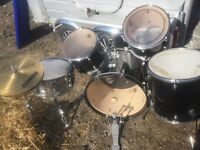 Complete Peavey Drum Kit
