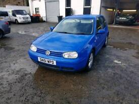 Vw Golf £1295, absoultly brilliant condition, just moted, 2 keys, 55mpg