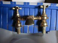 Brass bath taps for sale