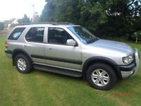 Vauxhall Frontera Limited. Oct 2004 - 1 Owner from new