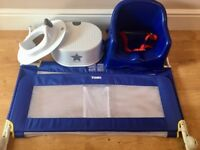 Baby Bundle - Booster Seat, Bed Guard, Step & Toilet Trainer Seat