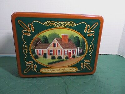 Vintage The Original Toll House Cookie Tin, Nestle Collectible 1987