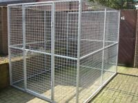 GALVANISED DOG RUN CAN DELIVER PEN KENNEL CAGE