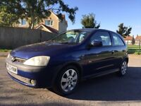 NEW SHAPE 2002 VAUXHALL CORSA 1.2 FEBRUARY 2017 MOT