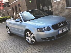 2004 AUDI A4 1.8 T SPORT AUTOMATIC PETROL CONVERTIBLE CABRIOLET MOT GREAT DRIVE