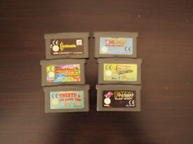 gameboy advanced sp games
