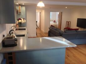 2 Bed Lg, Light, Airy Lower ground floor appartment, Pimlico close to River and Chelsea, inc bills.