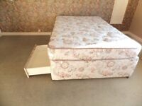 Very Good Condition 4 Drawer Divan Bed