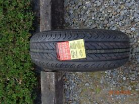 caravan tyre never used 185/65R14 for bailey senator twin axel kept as spare 07871186828
