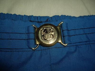 Vintage Jantzen Blue Swim Trunks Bathing Suit Shorts Men's Size 38 Made in USA!