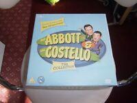 ABBOTT AND COSTELLO DVD BOXSET
