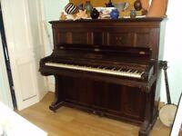 Free UPRIGHT PIANO John Brinsmead & Sons