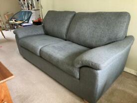 John Lewis Camden large 3 seater Sofa in charcoal