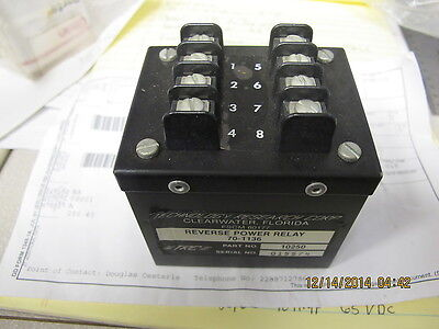 Reverse Power Relay Military Diesel Generators Mep B5ba