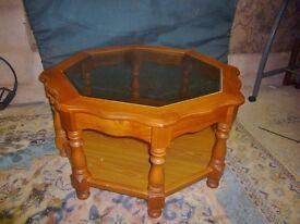 Octagonal Coffee Table
