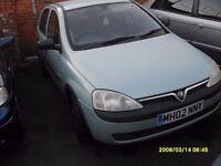 Vauxhall Corsa 1.7CC Diesel..5 Doors..Full Mot