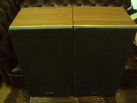 Rare Vintage Technics SB-90 Speakers (1976)