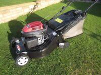 Lawn King XS50RHS Petrol Lawnmower Rear Roller With Honda GCV135 Engine Fully Serviced 48cm Cutting