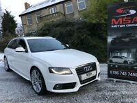 2010 AUDI A4 AVANT 2.0 TDI S LINE SPECIAL EDITION 2YEARS WARRANTY FASH Estate diesel white m sport