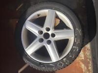 Audi a3 wheel and tyre