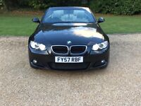 BMW M SPORT, 3 Series, Convertible, FULL SERVICE HISTORY, 6 SPEED MANUAL GEARBOX, HEATED SEATS!!