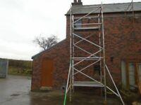 boss alloy scaffold tower