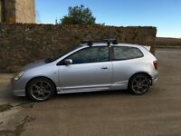 Silver 2002 Civic Type R (EP3) - 1 owner, practical and fun!