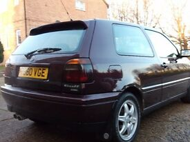 vw golf mk3 highline vr6 break for parts 69000 milage