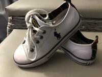 Ralph Lauren kids shoes