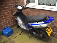spares repairs 50cc scooter please read ad