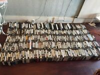 used 400 VHS tapes
